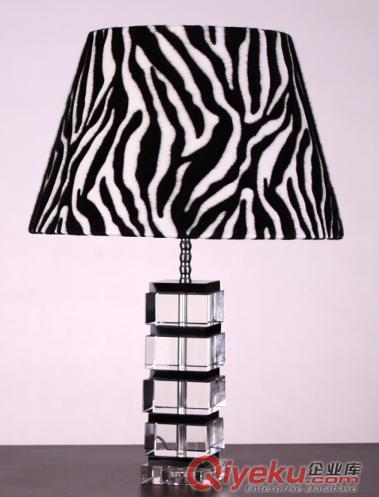 批发欧式水晶台灯k9高档水晶台灯座客厅卧室灯具