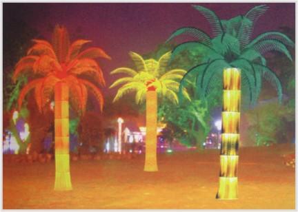"""厂家价格供应led椰树灯(led椰子树灯),(led棕榈树led仿真树)"""