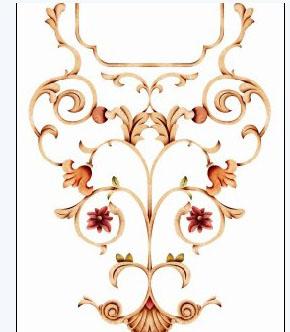 家具角花/欧式家具印花/美式家具贴花/仿古家具贴花