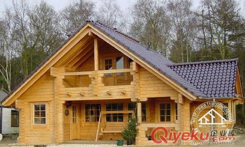日照防腐木木房子,木别墅施工(图)