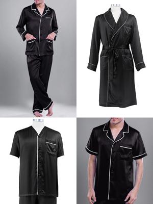 丝绸男式睡衣