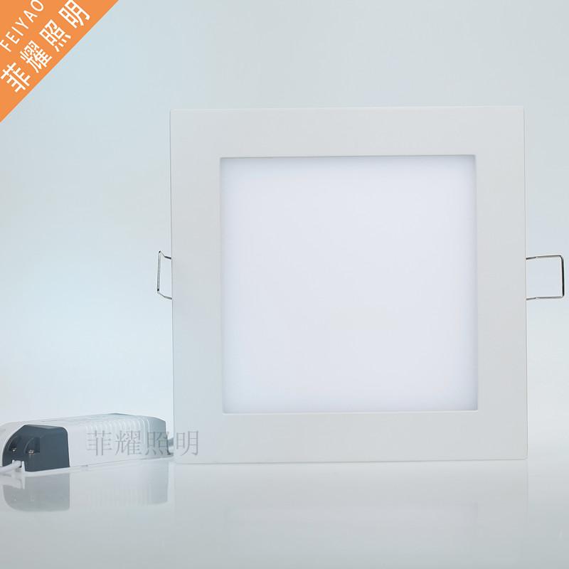 厂家直销LED暗装嵌入式陶瓷厨卫灯厨房灯大功率浴室灯15W 18W