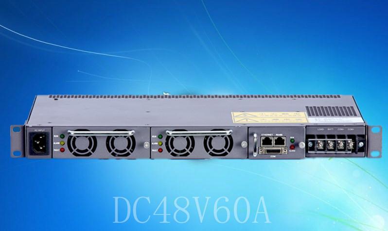 输入AC220V 输出DC48V60A通信电源嵌入式系统