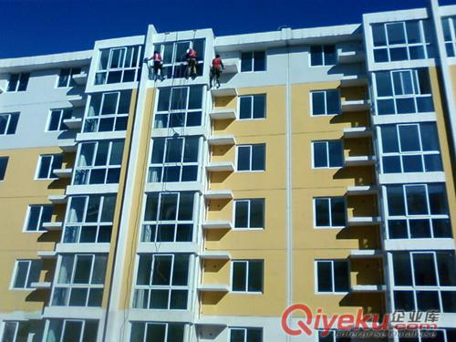 西安咸阳外墙粉刷施工,西安高层大楼粉刷,室内外墙面粉刷批腻子(图)