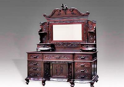 红木梳妆台(图)