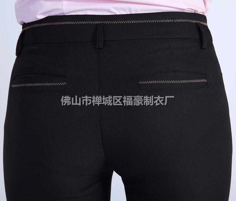 职业直筒裤_