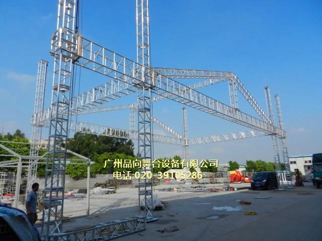 此舞台桁架尺寸规格为