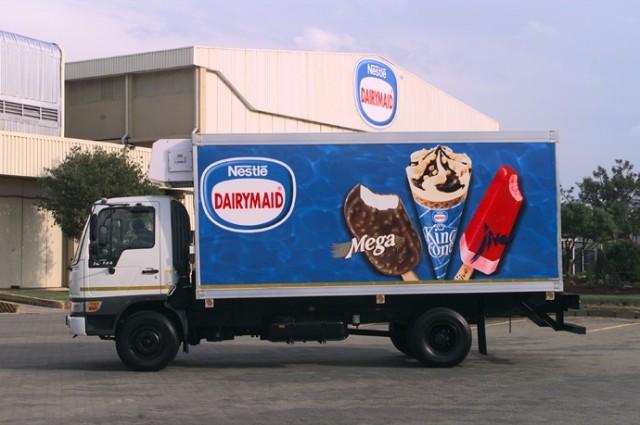 冰淇淋冷冻车(图)
