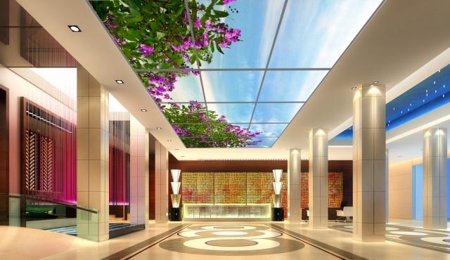 skylight酒店大堂吊顶设计