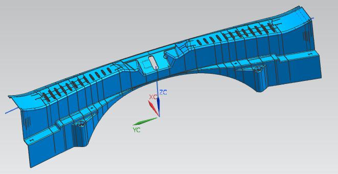 专业生产汽车行李箱后尾饰板模具 注塑模具 模具加工 标准模具 模具厂