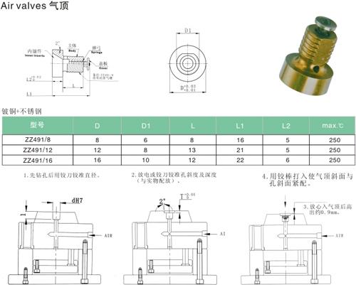 气缸塑料模具结构