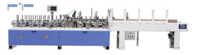 HY-SJ-350木线侧拼条机采用热熔胶