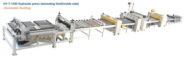 HY-T-1350A液压双面贴纸生产线