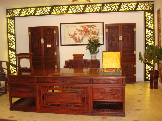 红木办公家具(图)