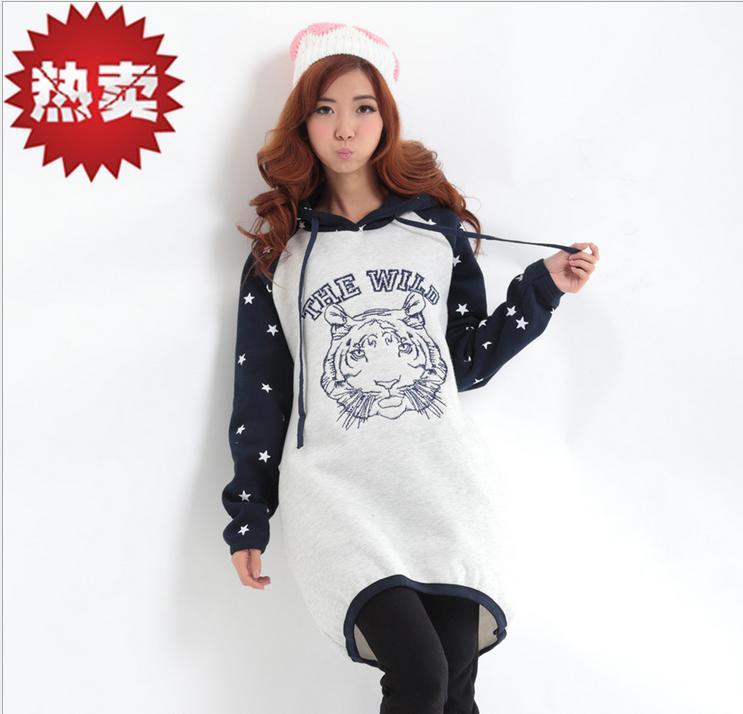 2014新款女士套头长款卫衣批发厂家直销时尚卫衣批发货源充足
