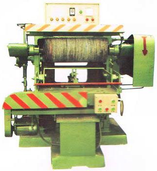 AS-1300单面自动研磨餐具抛光机(外弯)