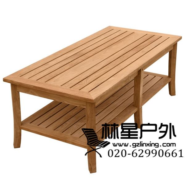 欧式户外家具 酒店室外全实木沙发 金丝柚红胡桃桌椅1090