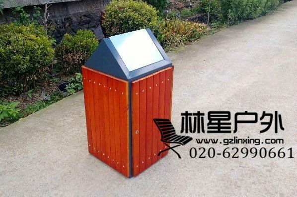 厂家供应垃圾桶,户外单桶环卫分类果皮箱5015