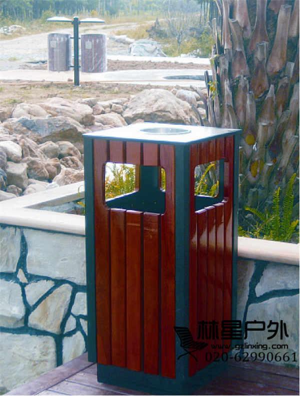 厂家供应垃圾桶,户外单桶环卫分类果皮箱5040-广州