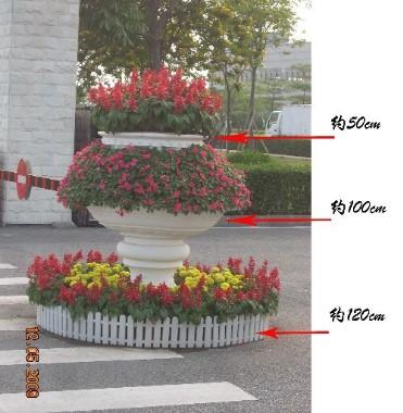 笔筒手工制作花坛