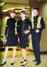深圳中餐服務員制服訂做|深圳酒樓服務員服裝