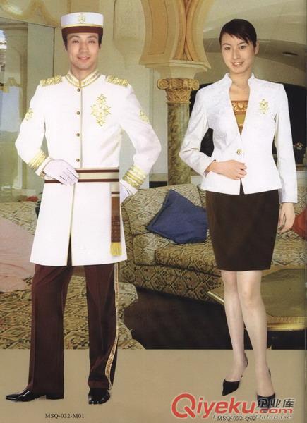 深圳訂做酒店門童服裝