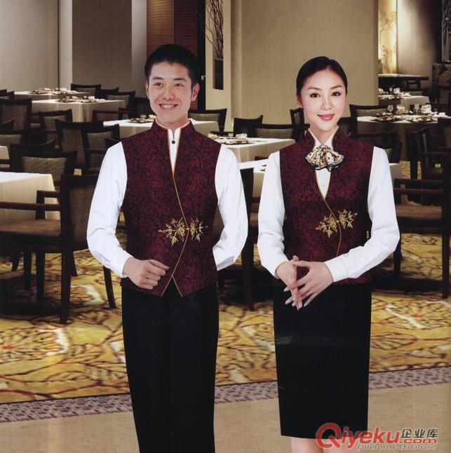 深圳中餐廳工作服訂做|深圳訂做中餐廳服務員服裝