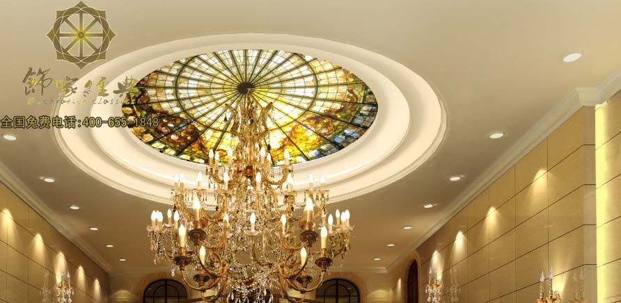 天花板玻璃吊顶