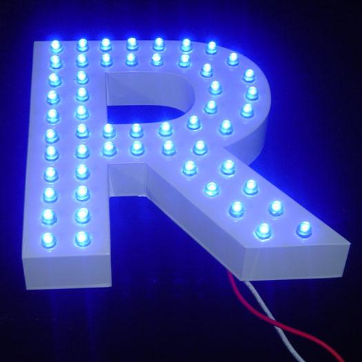 LED冲孔发光字图片 LED冲孔发光字产品图片由广州市番禺区大石妙盛广告制作服务部公司生产提供 企业库网