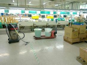 中山厂房清洁 车间清洁 保洁