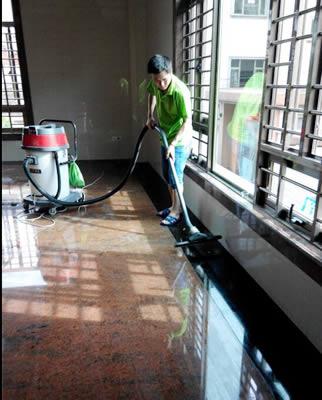 中山清洁公司室内清洗案例