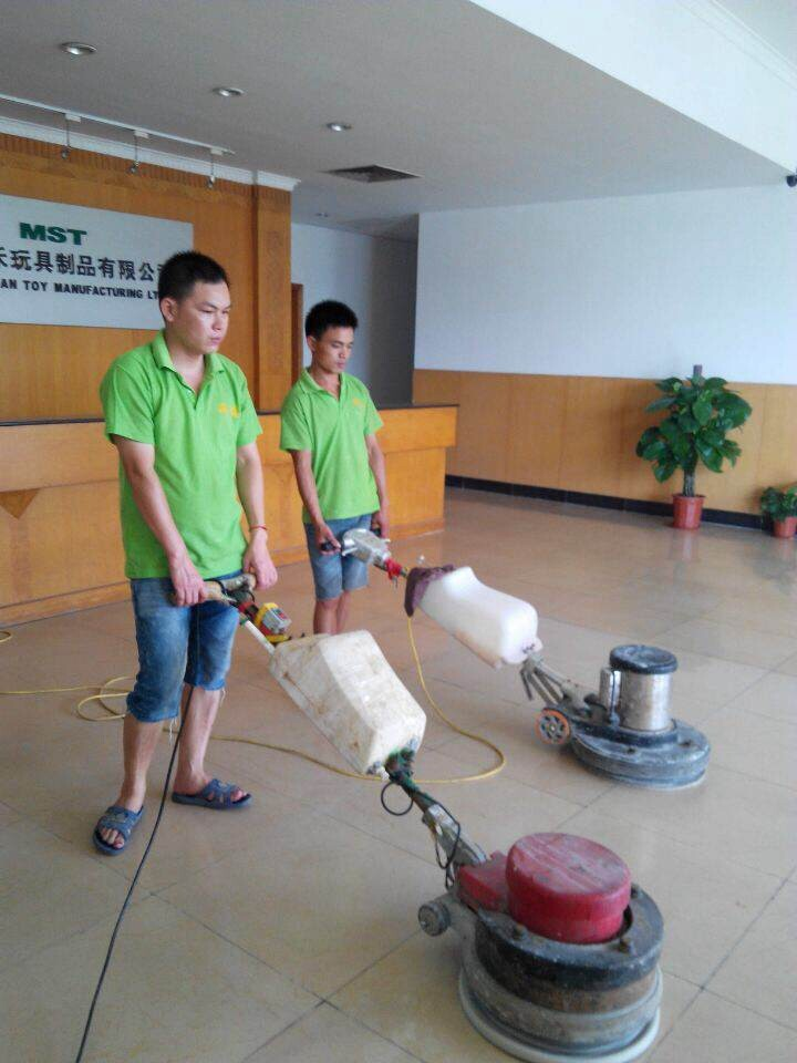 地板清洁打蜡 中山石材翻新打蜡