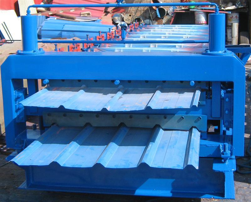 840 900型双层彩钢压瓦机批发价格厂家图片河北省泊头市...