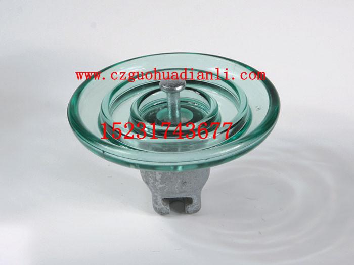 高压悬式标准玻璃绝缘子FC160/155