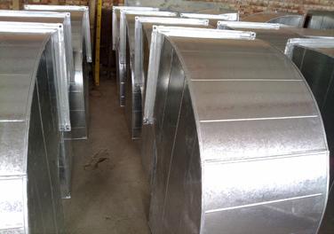 镀锌铁皮风管图片|镀锌铁皮风管产品图片由惠州市粤