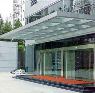 上海钢结构铁皮雨棚 钢结构铁皮雨棚 睿玲钢构