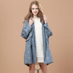 2014春夏新款韩版正品围领束腰女装外套