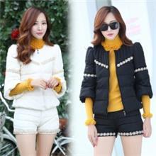 2014秋季冬装新品羽绒棉服套装大量现货优质版一件代发
