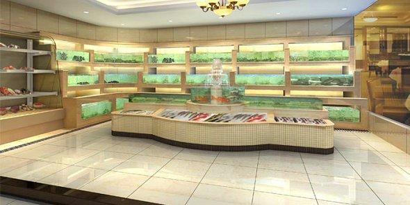 【广州鱼池海鲜池 酒店海鲜池设计施工服务