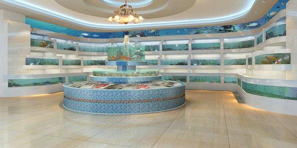 承建海鲜池鱼池工程设计施工