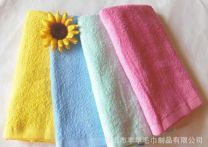 純色全棉浴巾