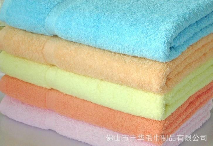 高檔緞檔純棉毛巾