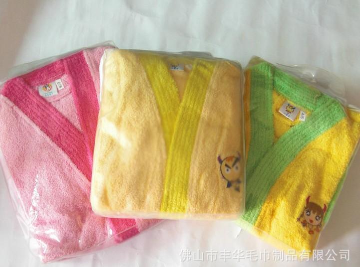 純棉兒童浴袍