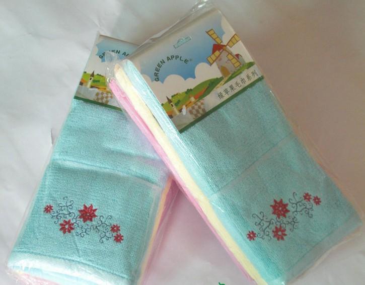 天然健康竹纖維面巾