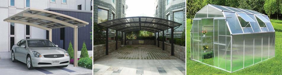 广州PC露台篷供应商