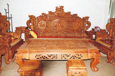 客厅家具  红木沙发