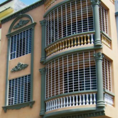 铝合金防盗网图片|铝合金防盗网产品图片由东莞市冠