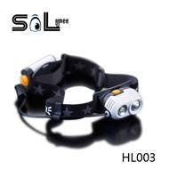 HL003|强光高亮LED头灯|LED户外露营头灯|LED狩猎头灯|登山头灯
