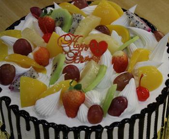 水果蛋糕19-爱的味道蛋糕坊提供水果蛋糕19的相关