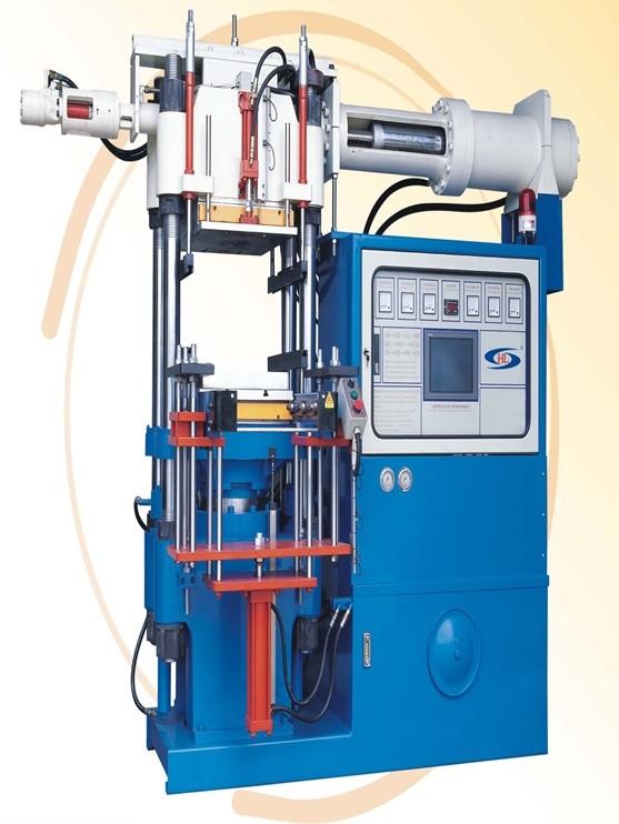 自动硅胶开模油压成型机
